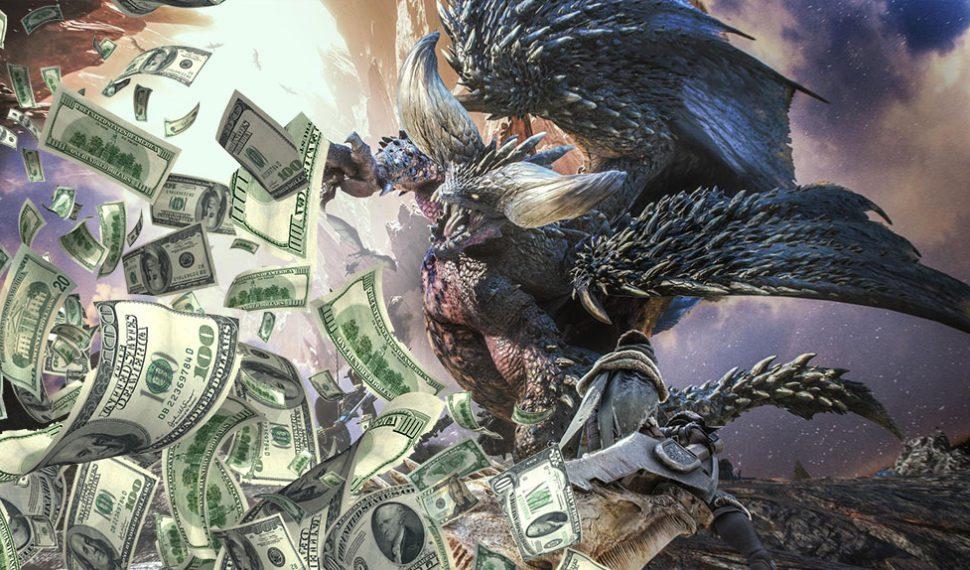 Monster Hunter World reparte 5 millones de unidades en sus 3 primeros días
