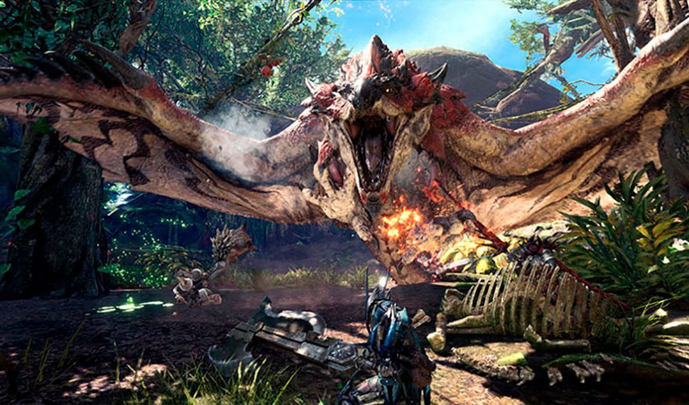 Capcom detalla por qué Monster Hunter World no llegará a Switch