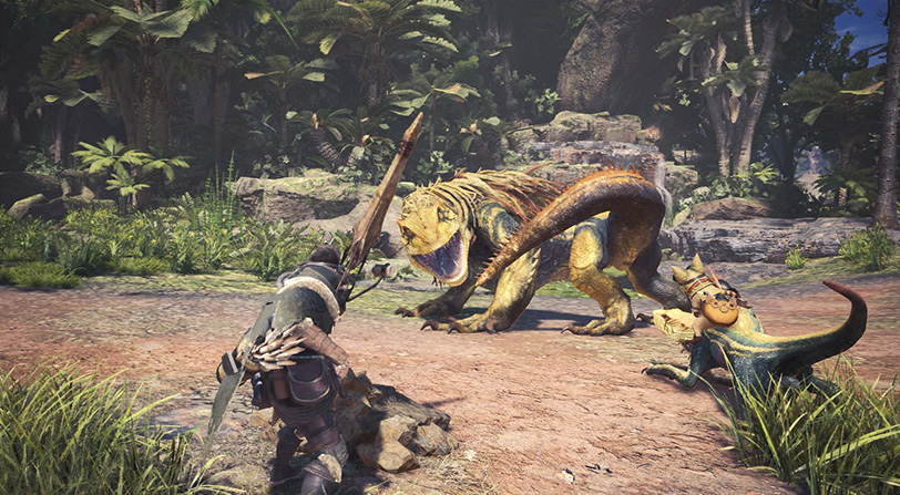 Monster Hunter: World definitivamente no tendrá cajas de botín ni microtransacciones