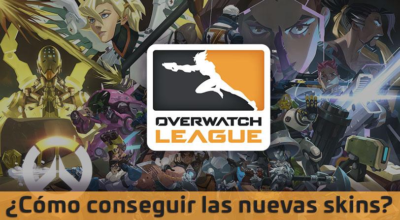 Overwatch recibe más de 300 nuevas skins gracias a la Overwatch League