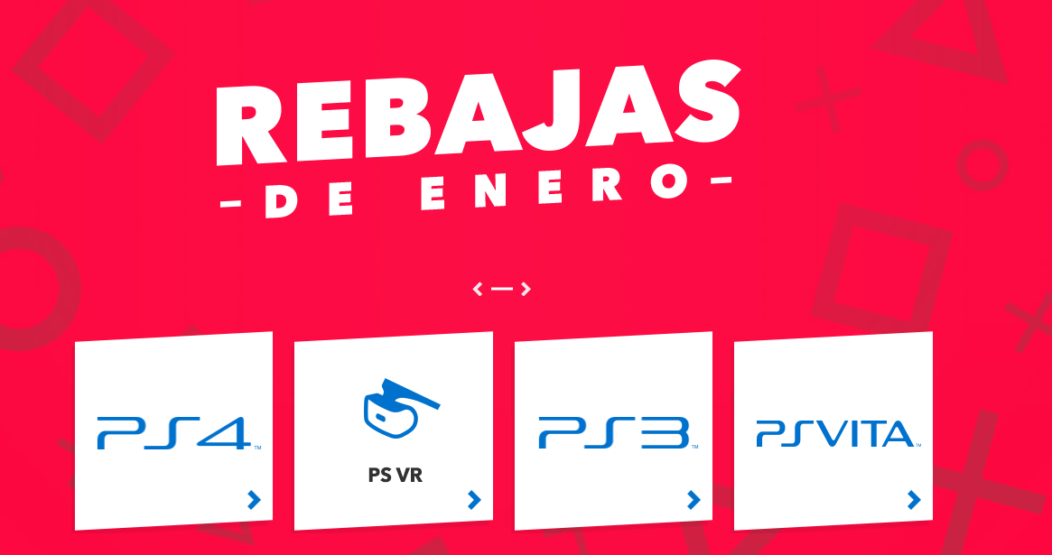 Rebajas enero playstation