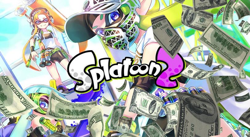 Splatoon 2 revienta el mercado japonés vendiendo más de 2 millones de copias