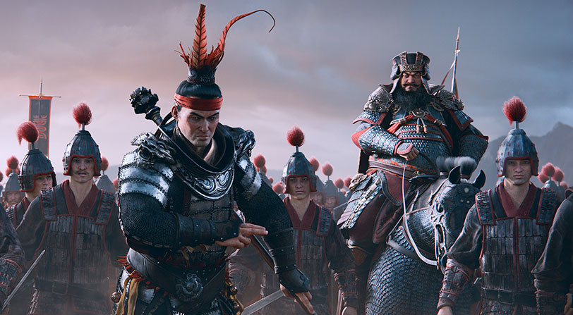 Total War: Three Kingdoms es lo nuevo de Creative Assembly