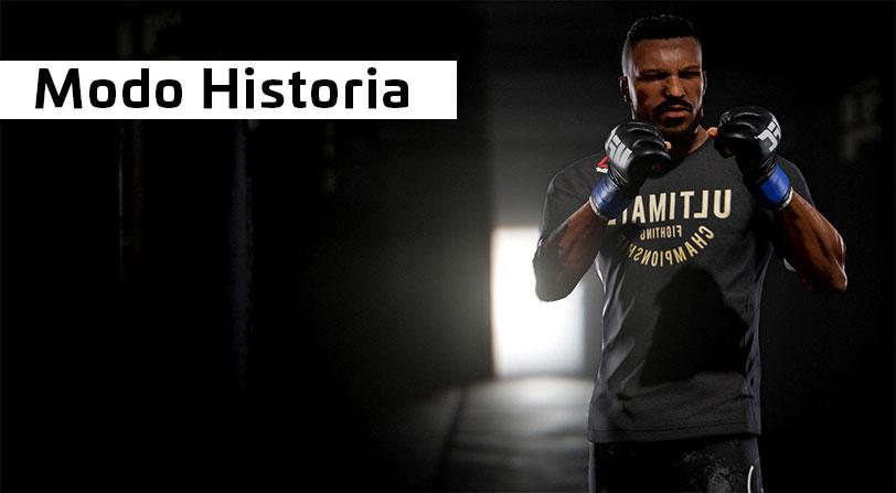 Electronic Arts muestra el modo historia de UFC 3