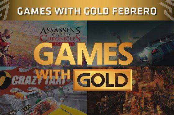 Xbox Live Gold presenta sus juegos gratuitos de febrero