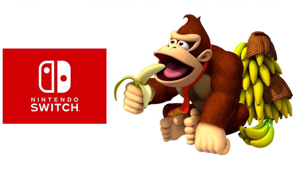 Rumores afirman que Donkey Kong podría llegar a Nintendo Switch