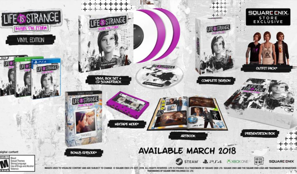 La Edición limitada de Life is Strange: Before the Storm disponible el 9 de marzo