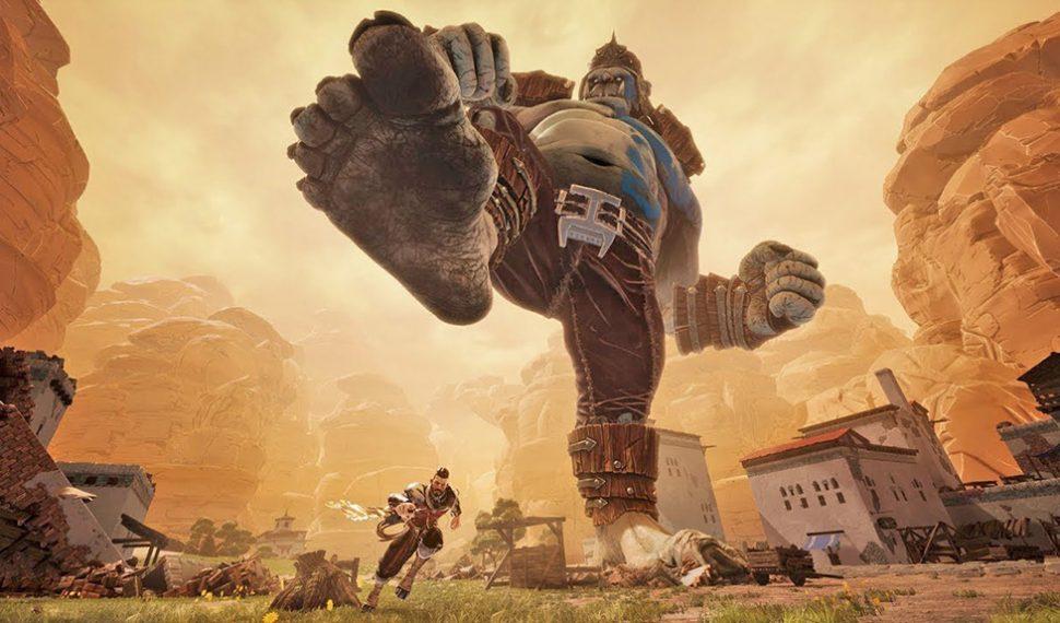 Extinction, el juego en el que tendrás que matar ogros gigantes, llegará en abril