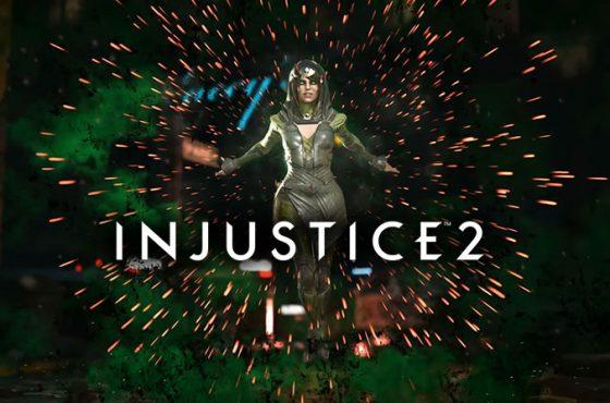 Primer tráiler de La Encantadora, la nueva luchadora de Injustice 2
