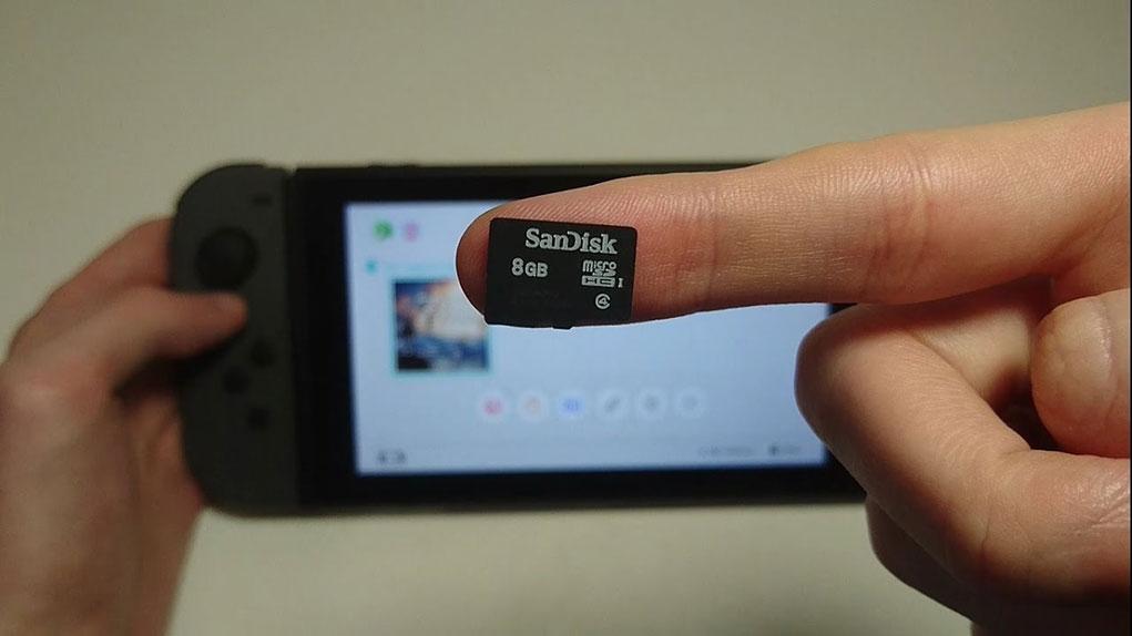 tarjeta microsd nintendo switch
