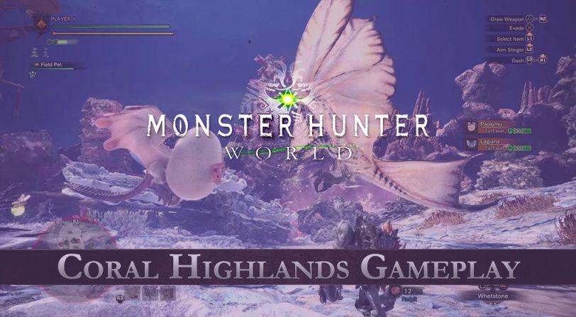 Nuevo contenido sobre la jugabilidad de Coral Highlands