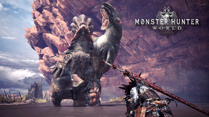 Monster Hunter World verá la luz para PC en otoño de 2018
