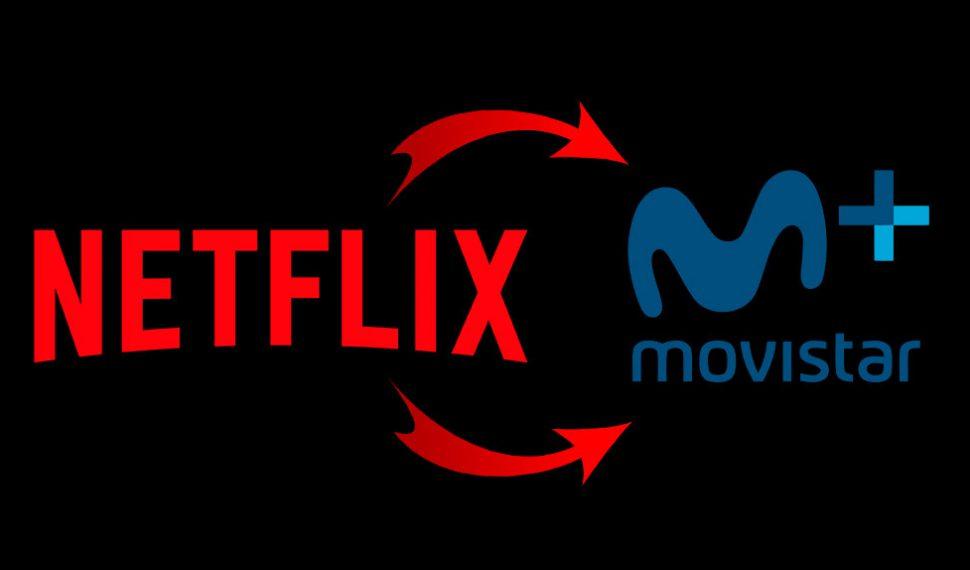 Todo el contenido de Netflix estaría disponible en Movistar+