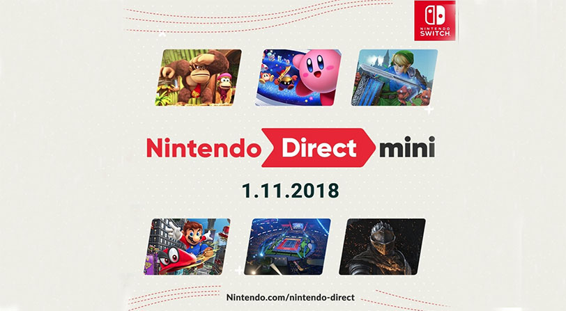 Nintendo Direct Mini novedades