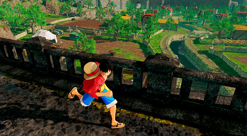 Bandai Namco muestra nuevás imágenes de One Piece: World Seeker
