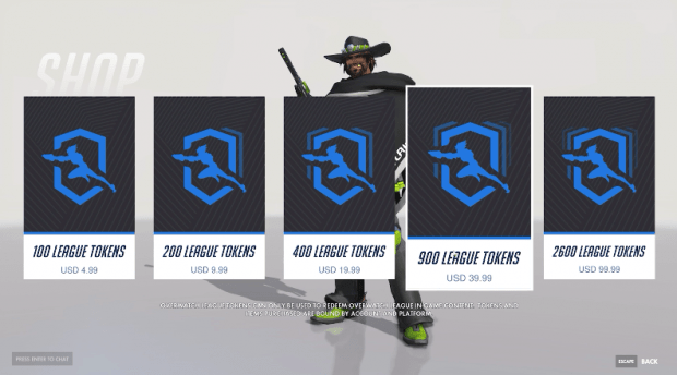 overwatch league skins