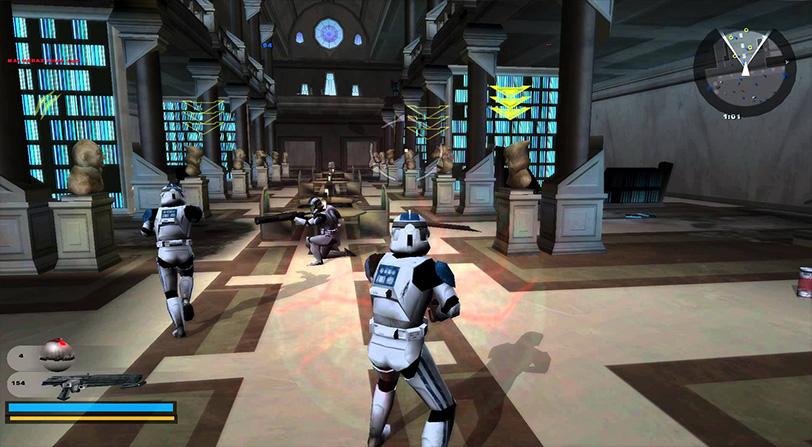 Star Wars Battlefront II del año 2005 recibe una actualización para PC
