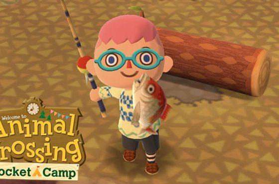 Un nuevo torneo de pesca y otras novedades llegarán pronto a Animal Crossing: Pocket Camp