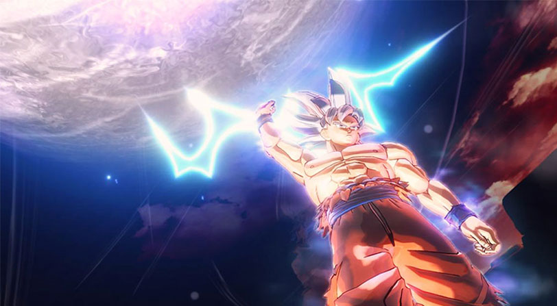 goku ultra instinto dragon ball xenoverse 2