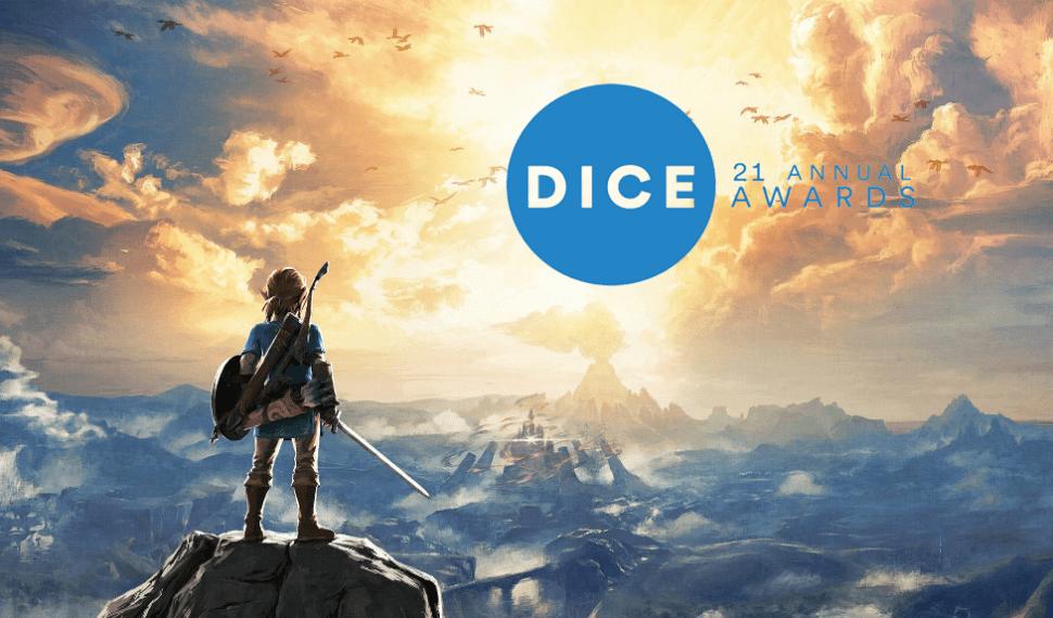 The Legend of Zelda: Breath of the Wild gana Juego del Año en los DICE Awards
