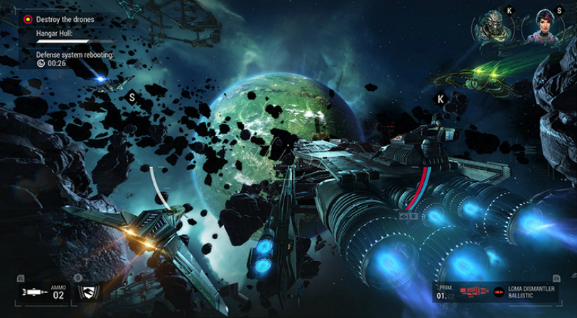 gameplay de Manticore Galaxy on Fire