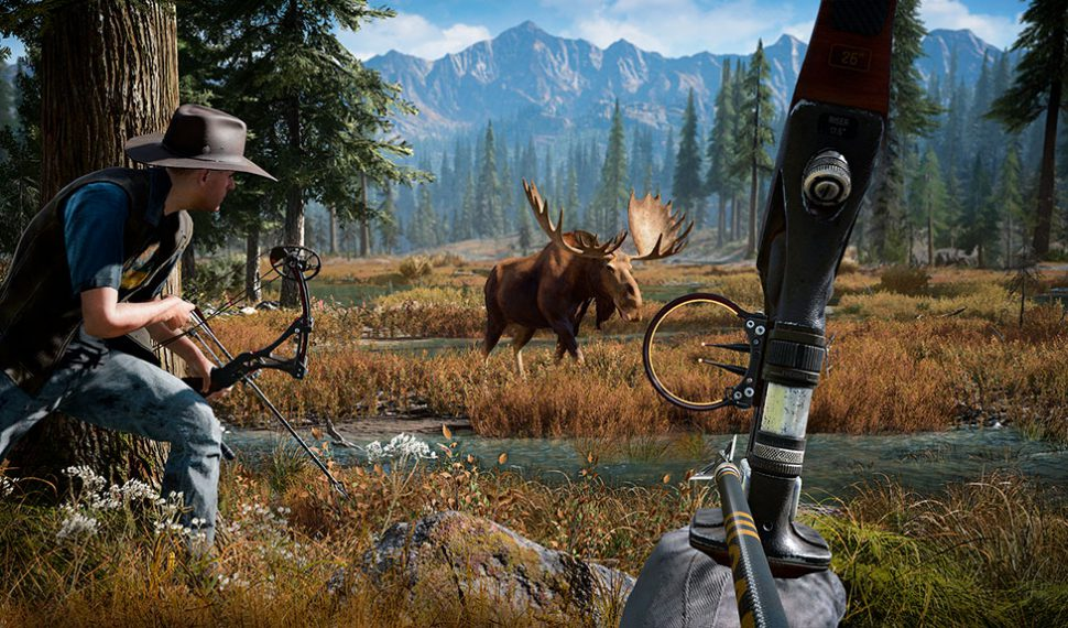 Far Cry 5 libera varios tráilers de los pistoleros a sueldo