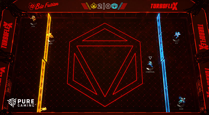 laser league primeras impresiones pc