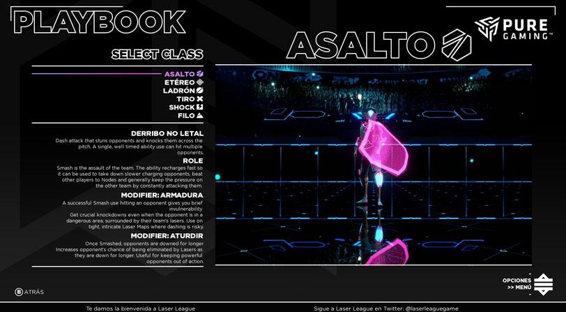 laser league primeras impresiones pc