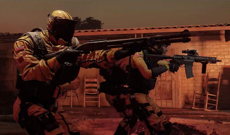 Rainbow Six Siege, Outbreak: Agentes, localizaciones y modos de juego