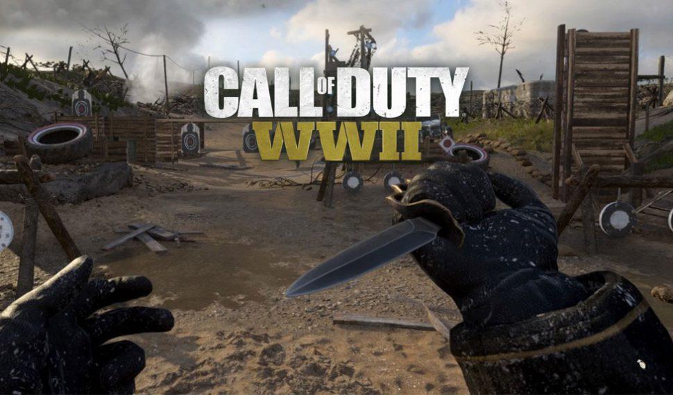 Call of Duty WWII: Jugador alcanza el nivel máximo sin disparar una bala