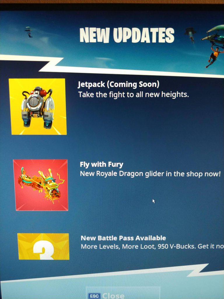 jetpack fortnite