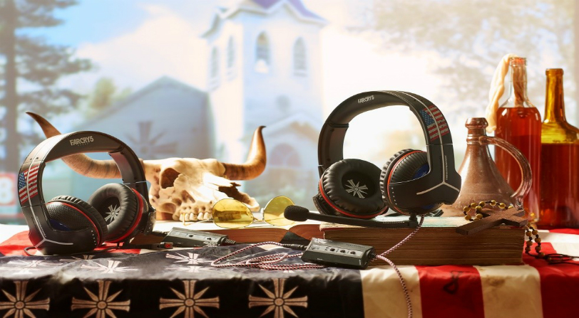 cascos thrustmaster far cry 5
