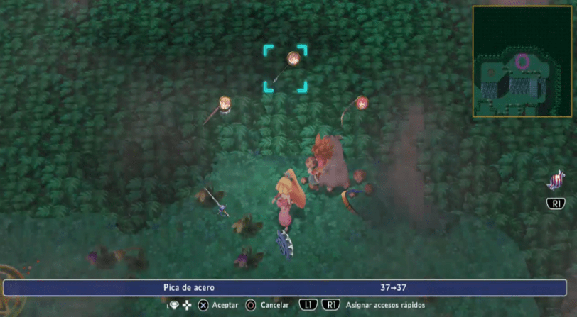 remake de Secret of Mana
