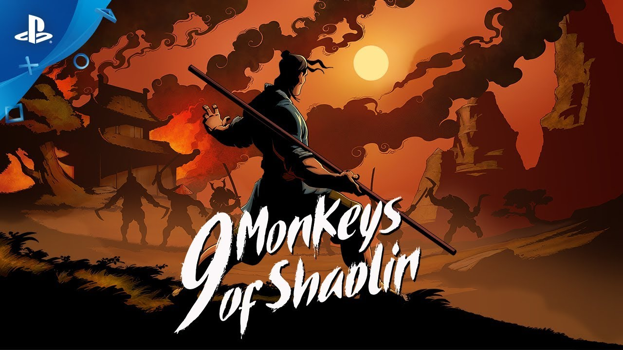 9 monkeys of shaolin trailer presentacion