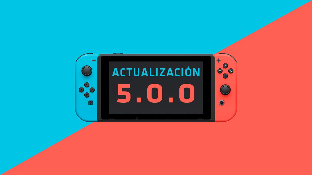 Actualizacion Nintendo Switch
