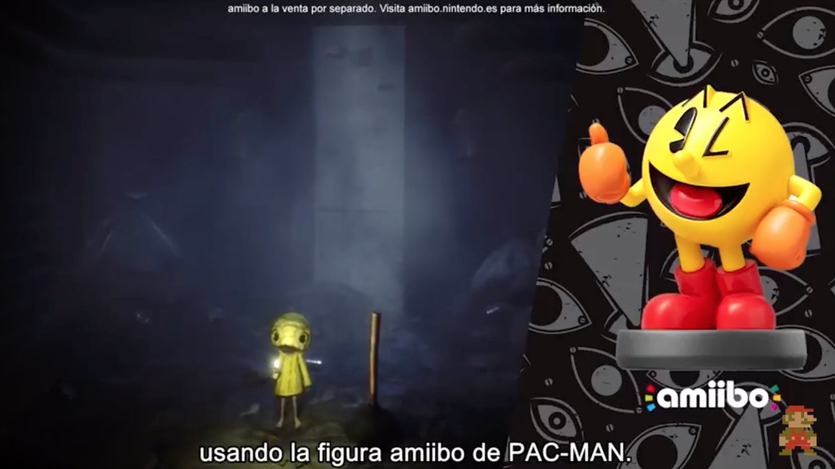 pac man little nightmares switch