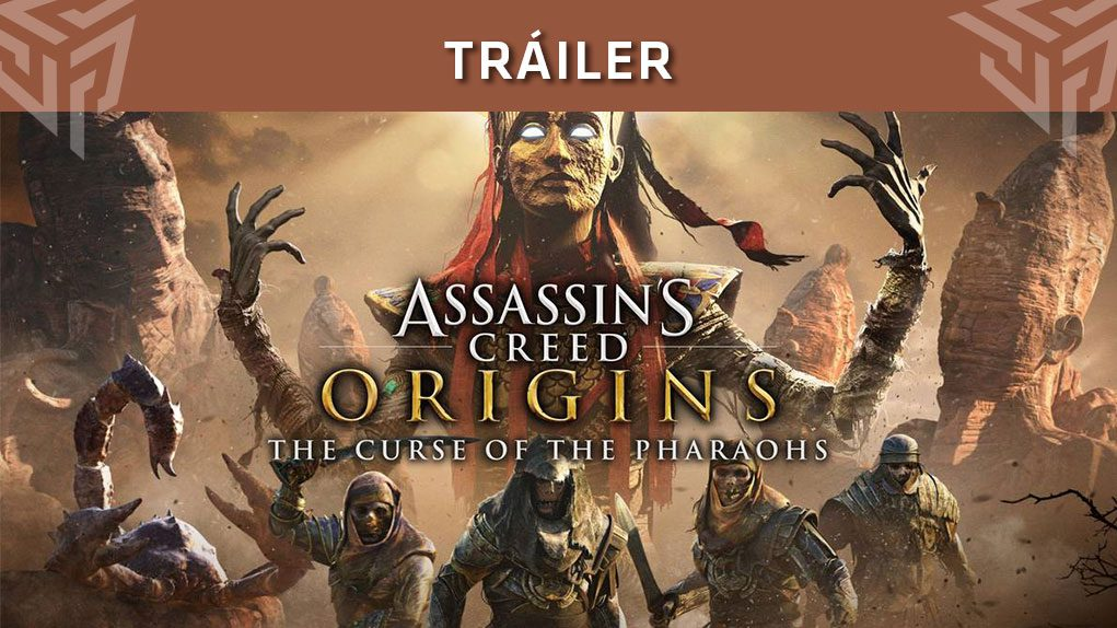 trailer segundo dlc assassins creed origins