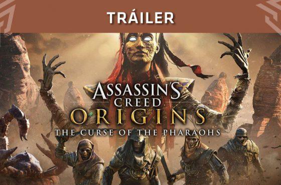 Tráiler de lanzamiento del nuevo DLC Assassin's Creed Origins: La Maldición de los Faraones