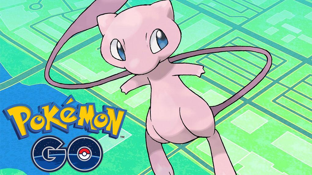 capturar mew pokemon go