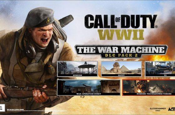 Anunciado el segundo DLC de Call of Duty: WWII 'La Máquina de Guerra'