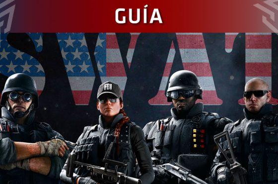 Guía de Rainbow Six Siege: Operadores FBI SWAT