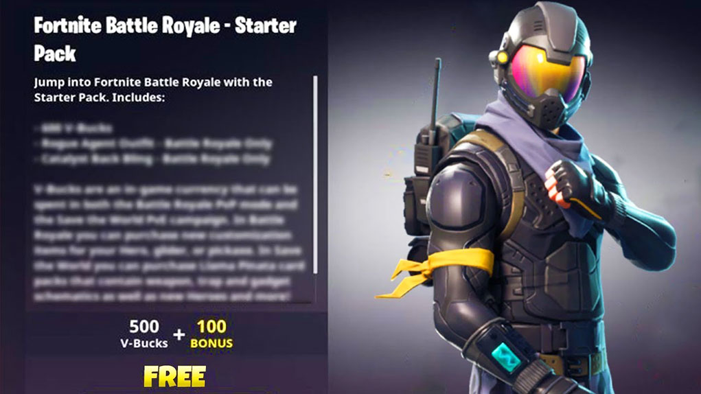 As 237 Es El Starter Pack De Fortnite Battle Royale Que