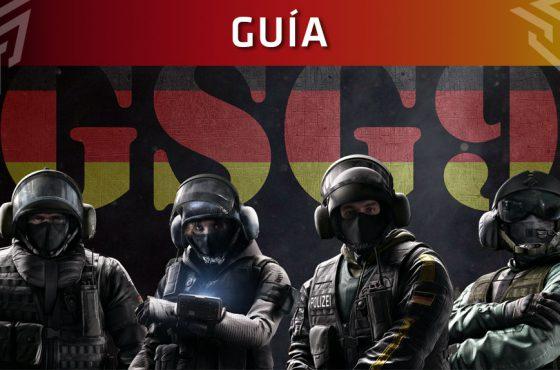 Guía de Rainbow Six Siege: Operadores GSG9