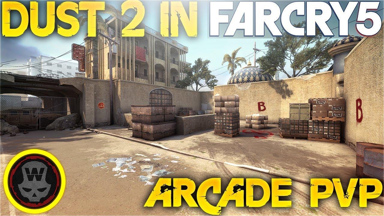 far cry 5 mapas modo arcade