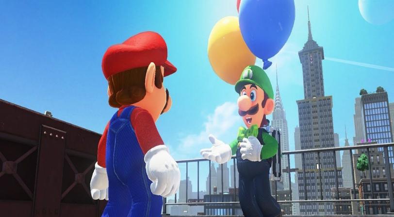 DLC Super Mario Odyssey