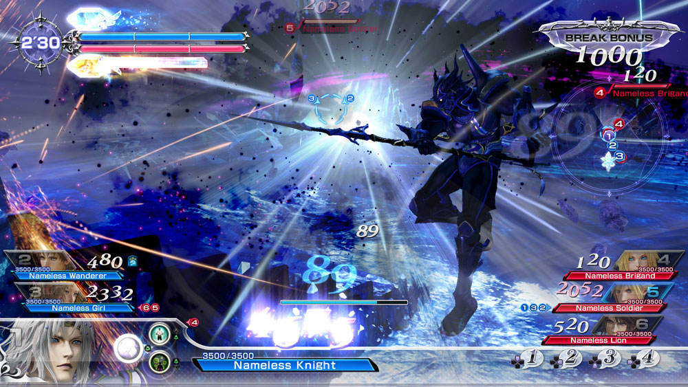 analisis de dissidia final fantasy nt