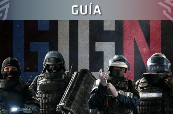 Guía de Rainbow Six Siege: Operadores GIGN