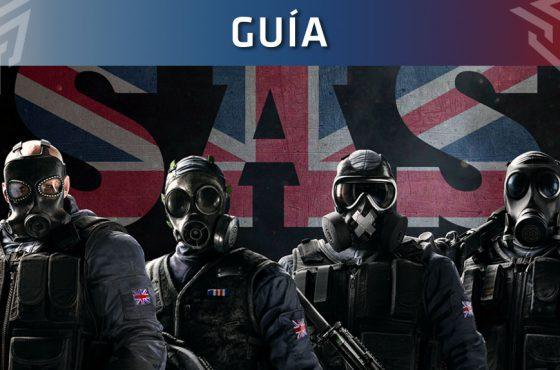 Guía de Rainbow Six Siege: Operadores SAS