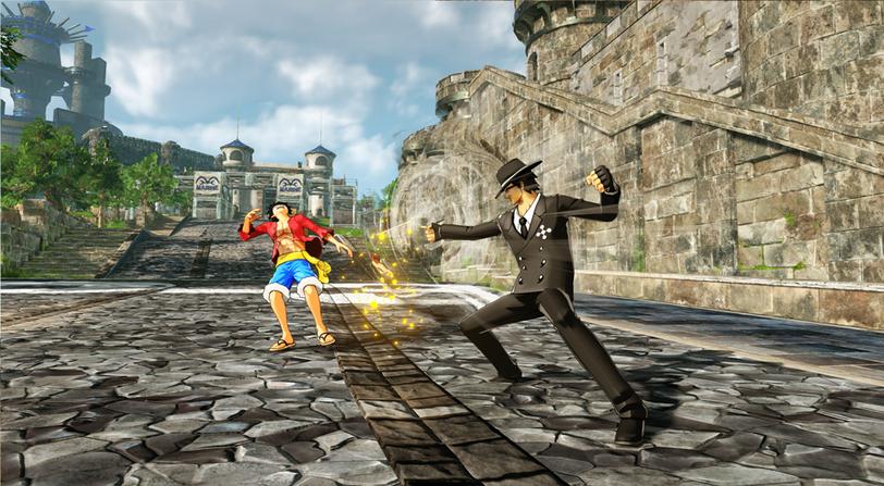 personajes One Piece World Seeker