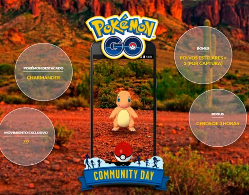 evento charmander pokemon go